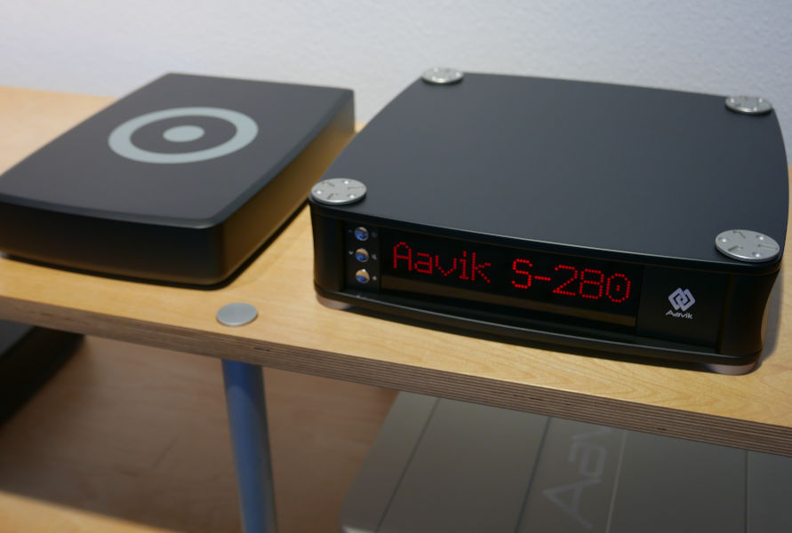 Aavik S-280 und Ansuz Switch Box
